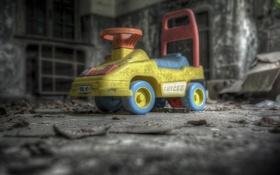 Обои машина, фон, игрушка
