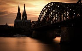 Обои Köln, Rhein, Hohenzollernbrücke