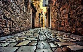 Обои Trogir, Croatia, Street