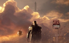 Обои Washington, gas, Fallout, NCR Veteran Ranger