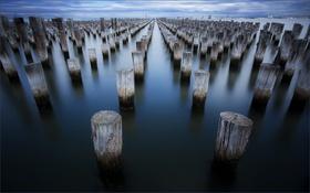 Картинка Australia, Victoria, Princes Pier, Port Melbourne