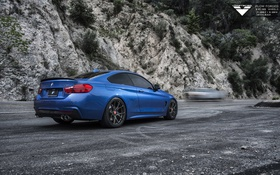 Обои bmw, бмв, coupe, vorsteiner, 2015, f32, 4-series