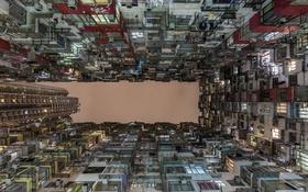 Обои Hong Kong, город, дом