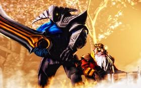 Обои герои, Dota 2, Sniper, Sven