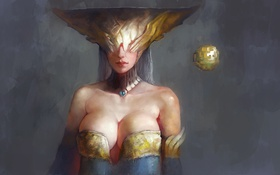 Картинка art, League of Legends, Lissandra, Ice Witch