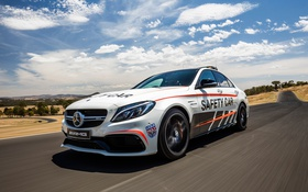 Обои Mercedes-Benz, мерседес, AMG, амг, Safety Car, C-Class, W205