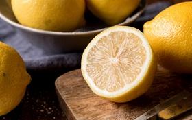 Картинка цитрус, лимон, фрукт, кислый