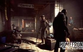 Картинка оружие, метро, подземка, Homefront: The Revolution