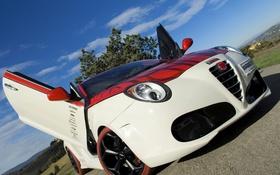 Картинка тюнинг, двери, Alfa Romeo, MiTo, ракурс, Marangoni, M430