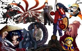 Картинка главные герои, аниме, наруто