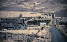 Картинка Klickitat County, Gothic, Ghost Town, Goodnoe Hills
