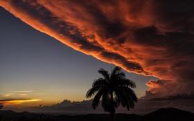 Обои Manigaragua, Sunset, Cuba