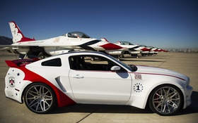 Обои Mustang, Ford, Air, Thunderbirds, Force, Edition, 2014