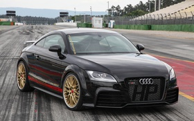 Картинка Audi, ауди, Black, TT RS, HPerformance