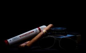 Обои still-life, Cuban cigars, Чайка-3, photoart