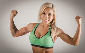 Картинка bra, boobs, blonde, fitness