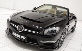 Обои Roadster, Mercedes, мерседес, брабус, 2013, R231, Brabus 800