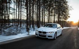 Обои Sedan, 3-Series, седан, F30, BMW, бмв