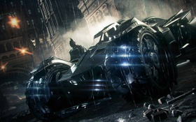 Картинка Hero, Batman, Batmobile, Rocksteady, Bruce Wayne, Video Game, Warner Bros. Interactive Entertainment