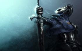 Обои abysswalker, путник бездны, Арториас, тёмные души, Dark souls