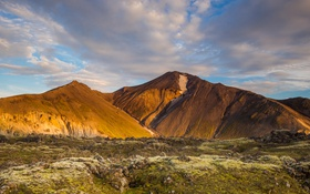 Картинка небо, горы, природа, фото, Исландия
