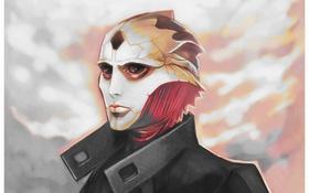 Обои пришелец, Mass Effect, art, assassin, thane, Thane Krios, drell