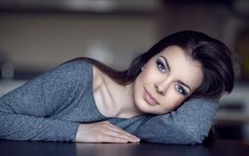 Картинка взгляд, свитер, Юлия, Юля, Yuri Panferov