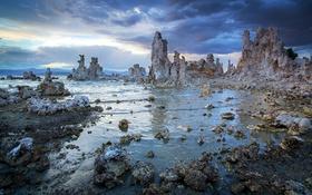 Картинка landscape, lake, sierra, eastern, mono