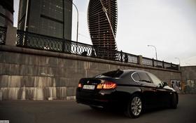 Обои машина, BMW, БМВ, фонари, фотограф, auto, photography