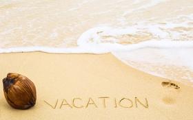 Обои vacation, beach, пляж, sea, песок, море, sand