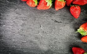 Обои клубника, strawberry, ягоды, berries