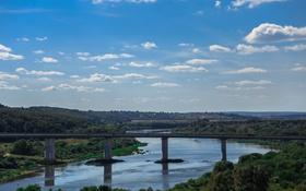 Картинка небо, мост, город, река, ока, Россия, Russia