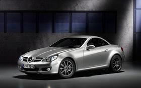 Обои родстер, R171, Mercedes-Benz, SLK-Class, мерседес