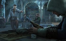 Обои Арт, Assassin's Creed, Black Flag, Эдвард Кенуэй, Assassin's Creed IV: Black Flag, Edward Kenway, Кредо ...