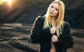 Картинка животик, губки, Anja, Natural Light