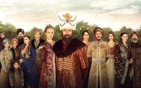 Обои Мерьем Узерли, Михримах Султан, 16-й век, Махидевран Султан, Хюррем Султан, Нур Феттахоглу, Рустем-паша
