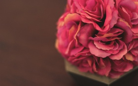 Обои цветы, лепестки, искусственные