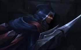 Обои лезвие, мужчина, убийца, League of Legends, talon, Blade's Shadow