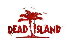 Обои красный, пальма, человек, белый фон, Dead Island, повешанный