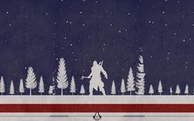 Обои fan art, Радунхагейду, Assassin's Creed 3, connor kenuey