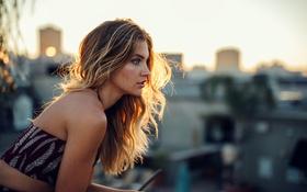 Картинка силуэт, солнечный свет, Kirsten, Jesse Herzog