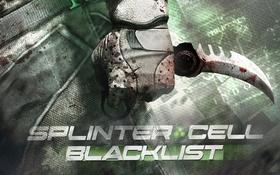 Картинка оружие, нож, splinter cell, керамбит, blacklist
