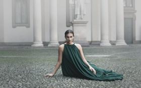 Картинка девушка, Elisa Lopez, поза