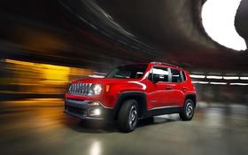 Обои джип, Sport, Jeep, 2015, Renegade, BR-spec, ренегат