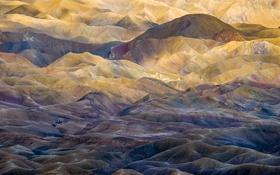 Картинка свет, горы, цвет, рельеф