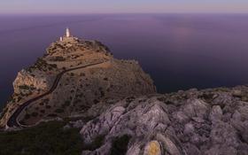 Обои landscape, Mallorca, rock formation