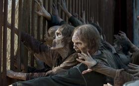 Обои Zombies, Horde, The walking dead