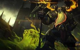 Обои heroes of newerth, Brimstone, Blackwal, Blackwal Pyromancer