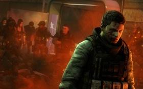 Обои солдаты, Resident Evil 6, capcom, Piers Nivans, BSAA