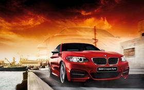 Обои бмв, купе, BMW, F22, Coupe, 2 Series, 2015